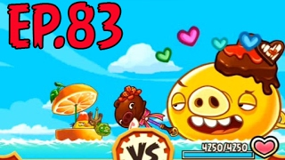 Angry Birds Fight! - MONSTER VALENTINE PIG RAID - GOLDEN CHOCOLATE STICK (SS STELLA) - EP83