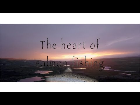 Fly fishing for Atlantic salmon