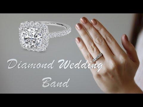 My diamond wedding band