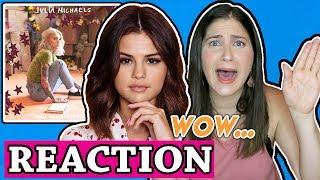 Julia Michaels   Anxiety (Audio) Ft. Selena Gomez | REACTION