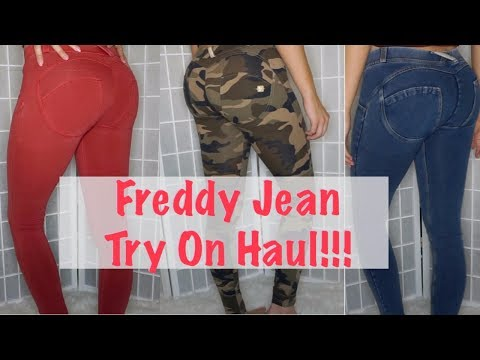 BOOTY LIFTING JEANS?! Livify Freddy Jeans Try On Haul!