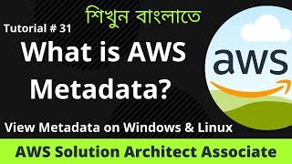 What is AWS Metadata | View Metadata on Linux and Windows EC2 | Tutorial 31