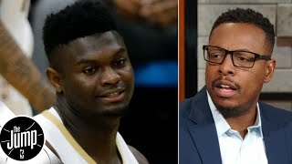 Zion will have to lose weight like I did to help with injuries - Paul Pierce | The Jump