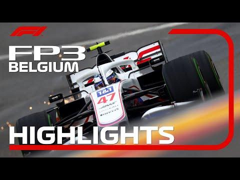 F1 第12戦ベルギーGP(スパ・フランコルシャン)FP3のハイライト動画