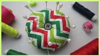 {Step-by-Step Sewing} DIY Pin Cushion