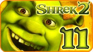 Shrek 2 Walkthrough Part 11 (PS2, XBOX, Gamecube) Team Action - 11: Final Fight