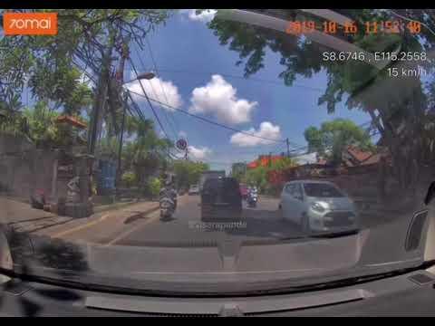 Motor Fell Down in Bali 16102019