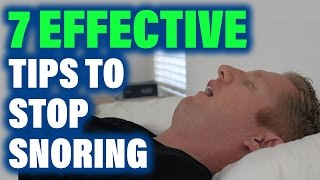 How to Stop Snoring: Sleep Apnea CPAP Solutions Prevent Aid Cure Anti Device Treatment OSA Reduce