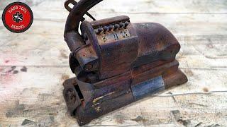 Antique Check Perforator [Restoration]