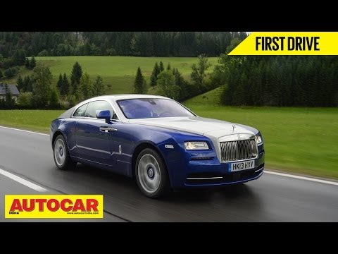 Rolls Royce Wraith | First Drive