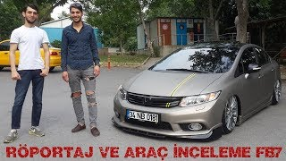 AİR HONDA CİVİC FB7 İNCELEME | KAPLAMA