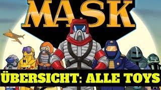 M.A.S.K Spielzeug der 80er : Diese Fahrzeuge und Sets gab es ! Toy Magazin