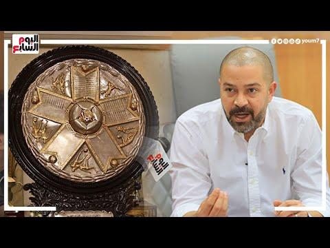 أحمد دياب لـ اليوم السابع شعار جديد للدورى وتغيير الدرع الموسم المقبل
