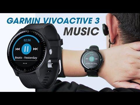 Review Garmin Vivoactive 3 Music l Tận hưởng âm nhạc ngay trên cổ tay - Cực ngon trong tầm giá