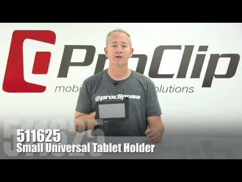 Play Video: ProClip Small Adjustable Tablet Holders
