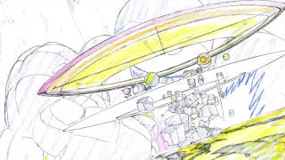 『スペース☆ダンディ』4/25発売 Blu-ray第1巻特典・原撮映像お試し版【原画:中村豊】
