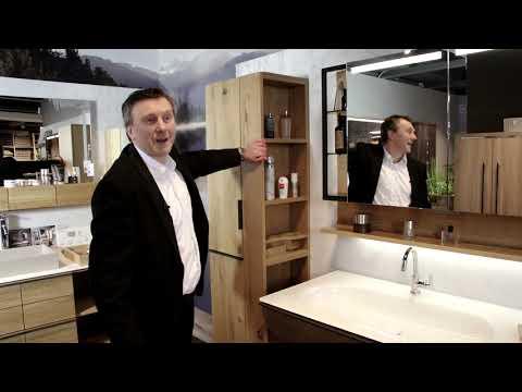 Trendline – Trendsetter – Designtrend – Badmöbel in echtem Massiv-Holz