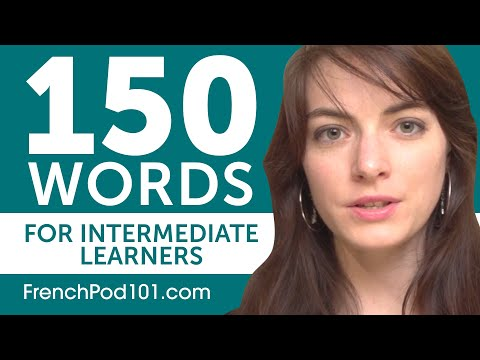 150 Words for Intermediate French Learners