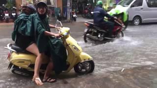 Rainy Season in Ho Chi Minh City (Saigon), Vietnam