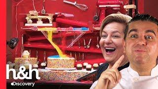 Pasteles interactivos | Cake Boss | Discovery H&H