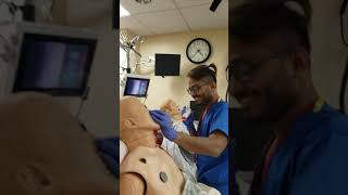 Number 1 rule in fiberoptic intubation by Ashraf the Resident.