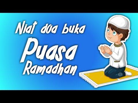 Doa niat buka puasa Ramadhan yang benar