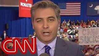 CNN's Jim Acosta heckled at Trump rally in South Carolina
