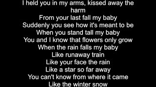 Joshua Radin - My Baby (Lyric Video)