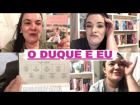 VLOG: LIVRO O DUQUE E EU | PROJETO LENDO OS BRIDGERTONS | ENTRE LIVRO E CAFÉ