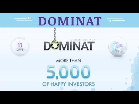 Dominat.company отзывы 2019, mmgp, обзор БОЛЕЕ 5000 СЧАСТЛИВЫХ ИНВЕСТОРОВ