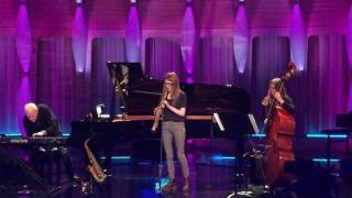 Jess Gillam Rehearsing Pequena Czarda For BBC Young Musician With Steve Lodder And Andee Price