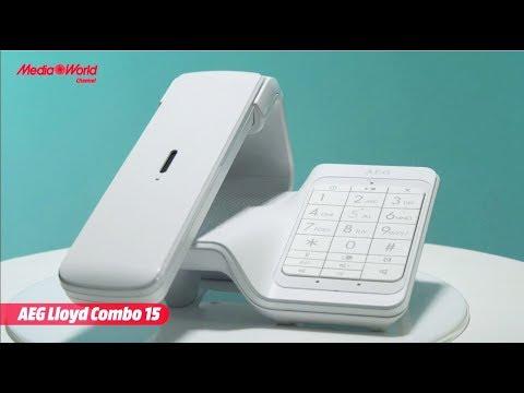 Telefono cordless AEG Lloyd Combo 15