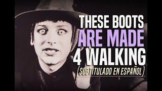 Boy George - These Boots Are Made 4 Walking. (Subtitulado En Español)