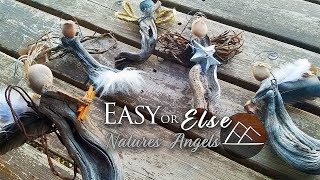 Natures Little Angels DIY Ornaments
