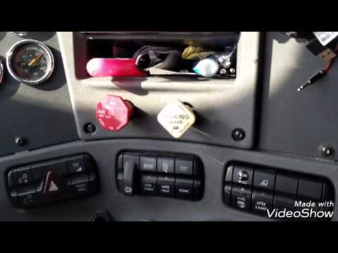 What are all the switches in a semi for? Freightliner Cascadia