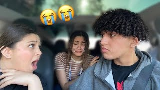 Making My BOYFRIENDS LIL SISTER CRY...