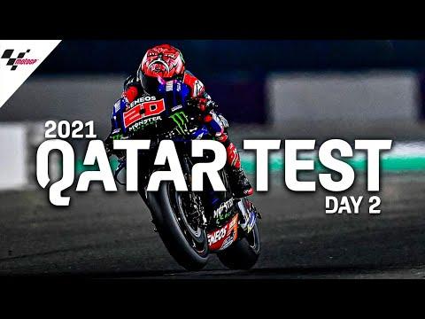 MotoGP 2021カタールテスト 2日目のハイライト動画