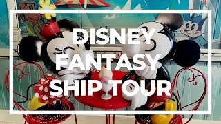 Disney Fantasy Ship Tour | Disney Cruise Line