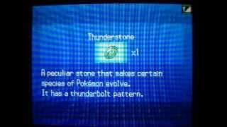 Drilbur  - (Pokémon) - Pokemon Black/White - How to get Thunderstone + Drilbur