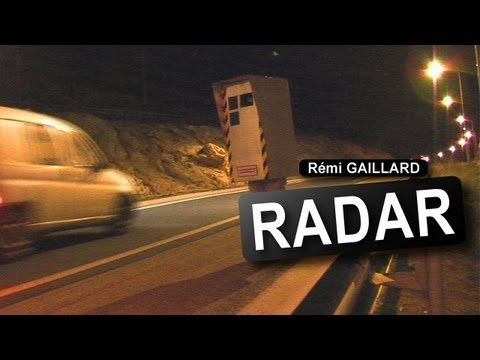 Image video Rémi Gaillard en radar