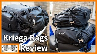 Kriega  US10, 20 & 30 Bags - Owners Review