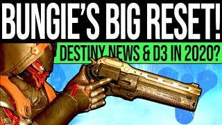 Destiny 2 | Bungie's HUGE Reset Opportunity! Franchise News, Content Challenge & Destiny 3 in 2020?