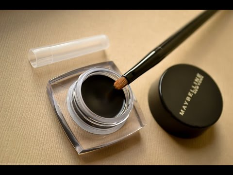 Maybelline Lasting Drama Gel Eye Liner || Review