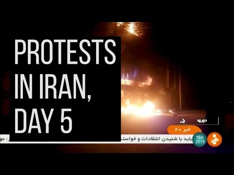 Iran protests grow, death toll mounts
