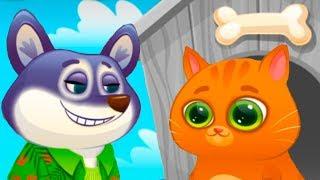 ПЕСИК ДУДУ #11 КОТЕНОК БУБУ / Мультик про котика и собачку для детей от КИДА #ПУРУМЧАТА