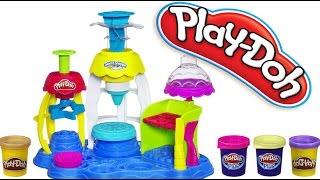 """Плей До """"Фабрика Пирожных"""" Play-Doh Frosting Fun Bakery Видео для детей"""