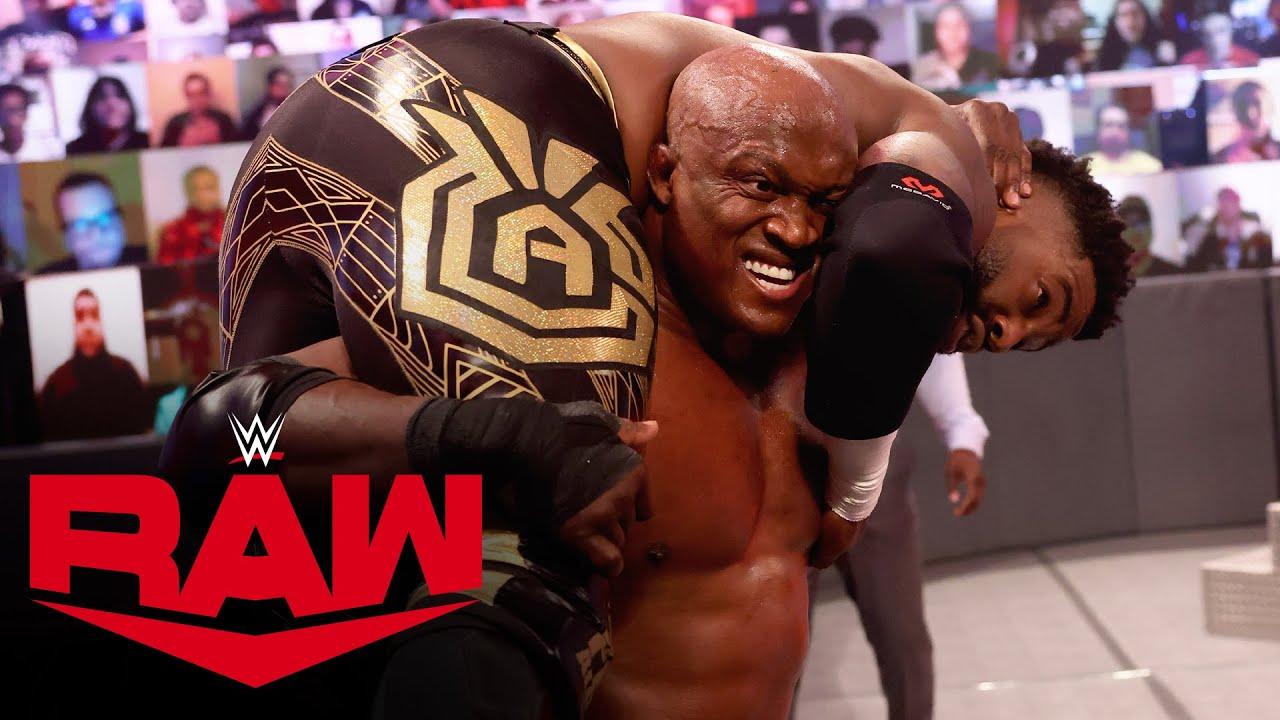 Bobby Lashley Defeats Cedric Alexander On RAW