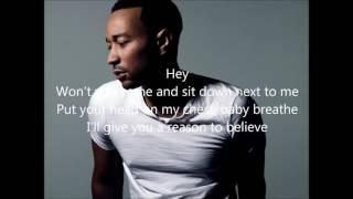 John Legend - Love you anyway (Lyrics)