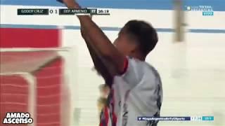 Copa Argentina : GODOY CRUZ 2 - 1 ARMENIO (Los Goles)