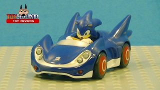 NKOK SONIC & SEGA All STARS RACING SONIC THE HEDGEHOG,diecast review by ToyHound
